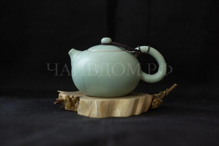 чайник жу яо керамика фарфор с водным замком сито гнездо 170мл