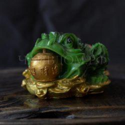 трехлапая жаба игрушка питомец меняет цвет