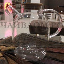 чайник стеклянный жаропрочный 1,8 литра