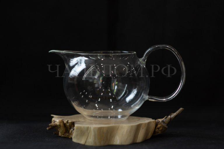 чахай гундаобэй сливник фарфор стекло керамика с ручкой