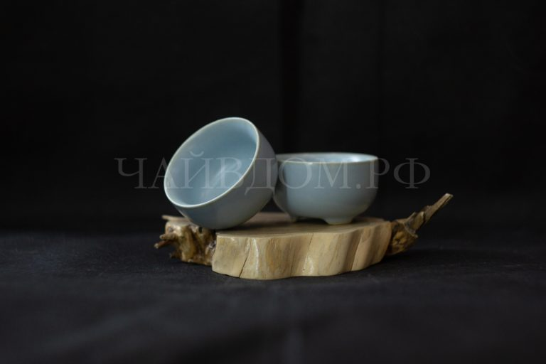 пиала жу яо керамика фарфор глазурь чай пин ча гун фу ча