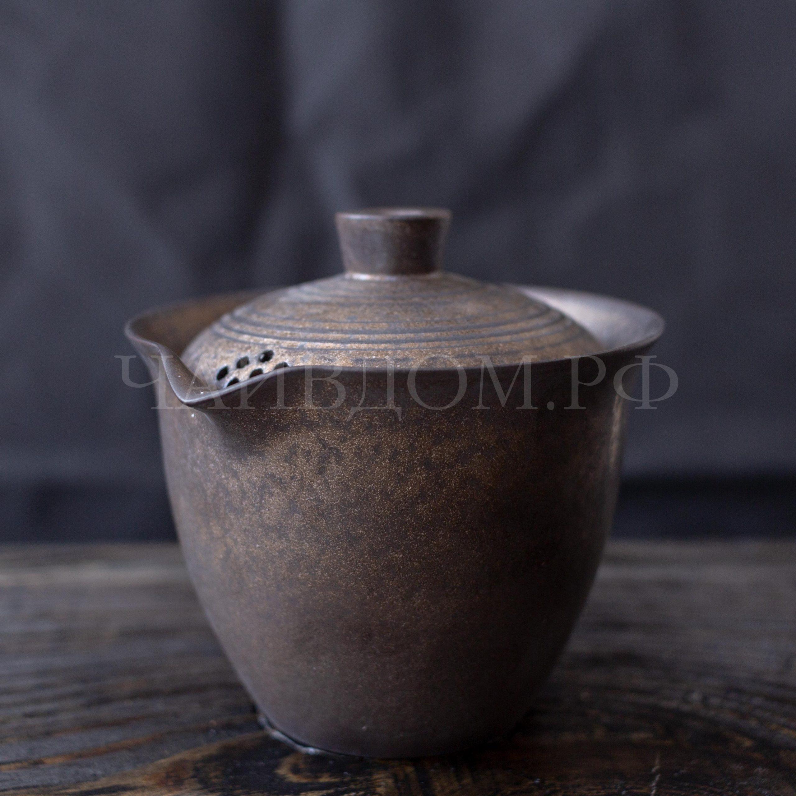 Гайвань хохин японский стиль керамика глазурь заварник чай
