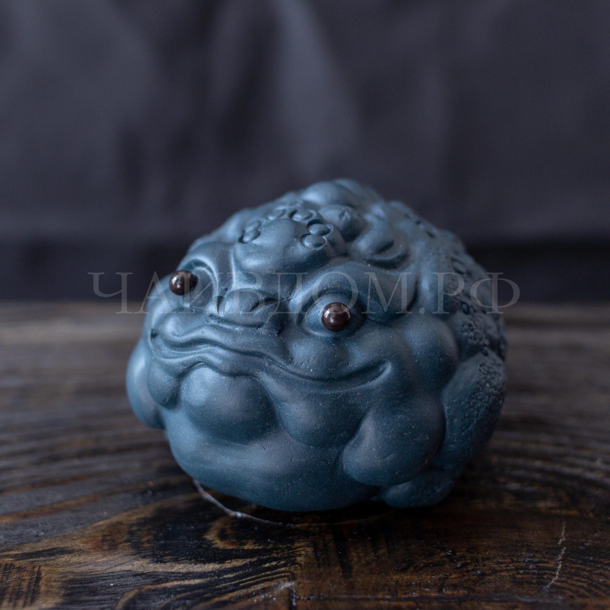 чайная утварь игрушка питомец чай жаба глина тянь цин ни голубая глина