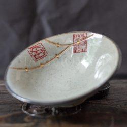 пиала глина глазурь керамика стилистика кинцуги