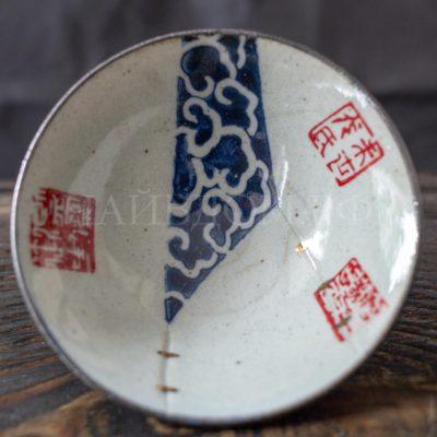 пиала глина глазурь керамика кинцуги